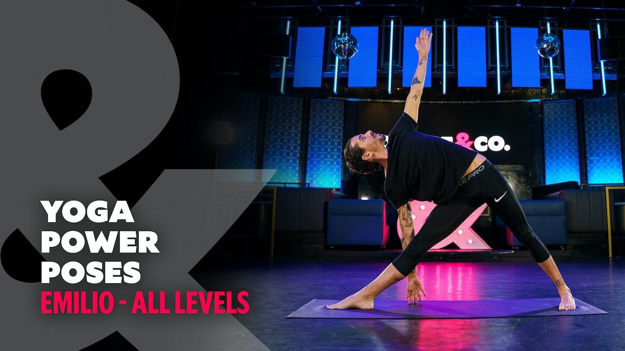 Emilio - Power Yoga Poses - All Levels