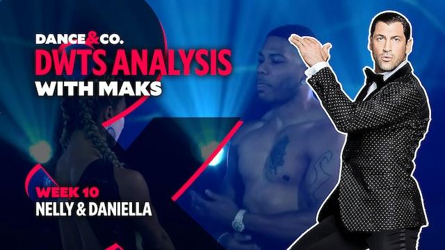 DWTS ANALYSIS: Week 10 - Nelly & Daniella Karagach