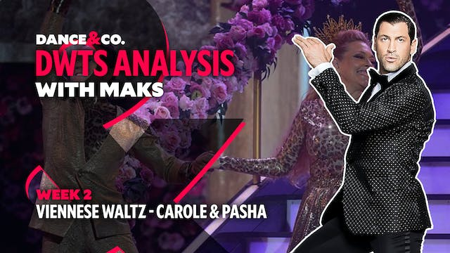 DWTS MAKS ANALYSIS: Week 2 - Carole B...