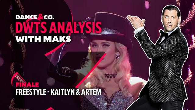 DWTS ANALYSIS: Week 11 - Kaitlyn Bris...