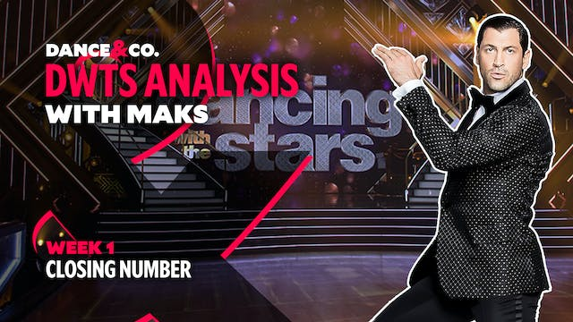 DWTS ANALYSIS: Week 1 - Closing Number