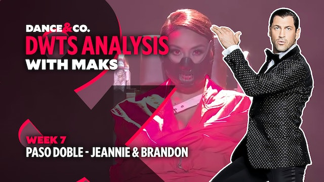 DWTS MAKS ANALYSIS: Week 7 - Jeannie Mai & Brandon Armstrong's Paso Doble