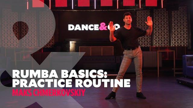 Rumba Basics - Practice Routine w/ Ma...