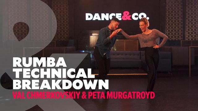 Rumba Technical Breakdown w/ Val Chmerkovskiy & Peta Murgatroyd - Level 1