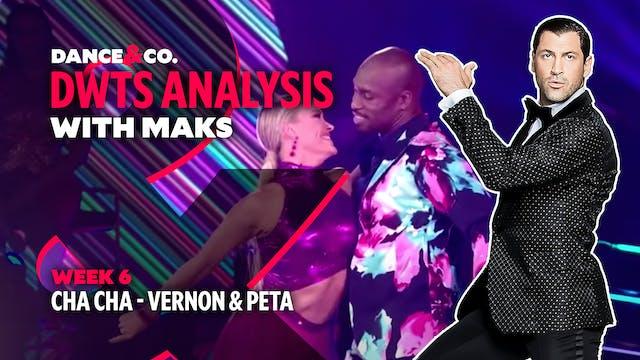DWTS MAKS ANALYSIS: Week 6 - Vernon D...