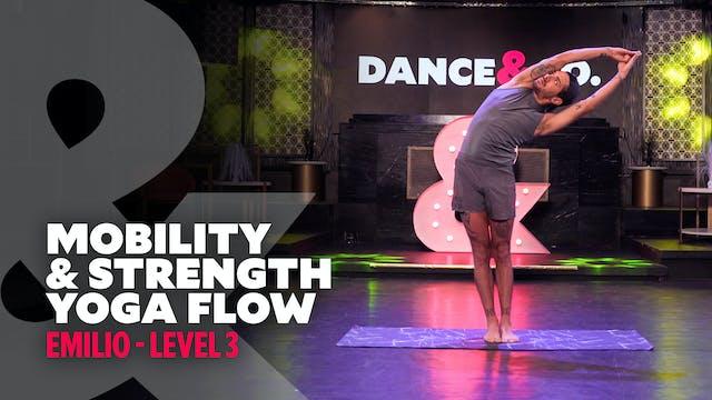 Emilio - Mobility & Strength Yoga Flow - Level 3