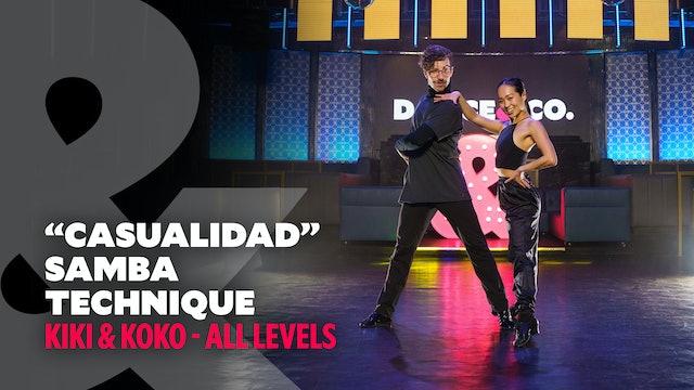 "Kiki & Koko - ""Casualidad"" - Samba Technique - All Levels"