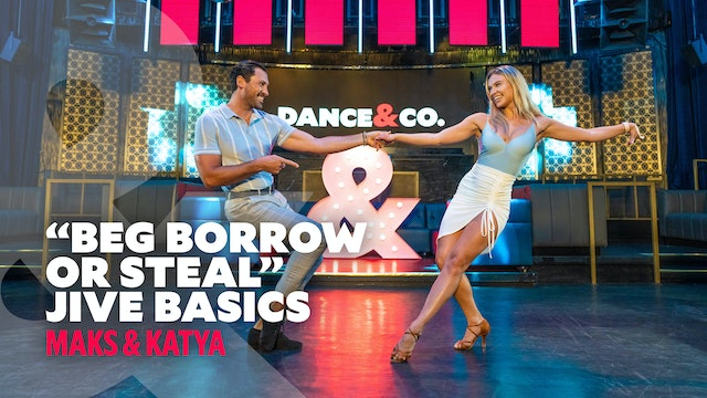 "Maks & Katya - ""Beg, Borrow or Steal"" - Jive Basics - Level 1"