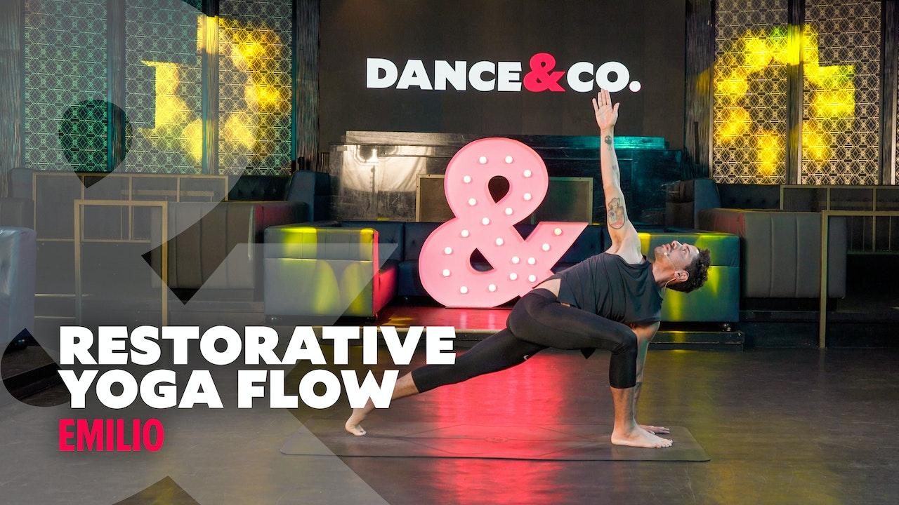 Emilio - Restorative Yoga