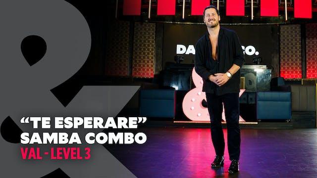 "Val - ""Te Esperare"" Samba - Level 3"