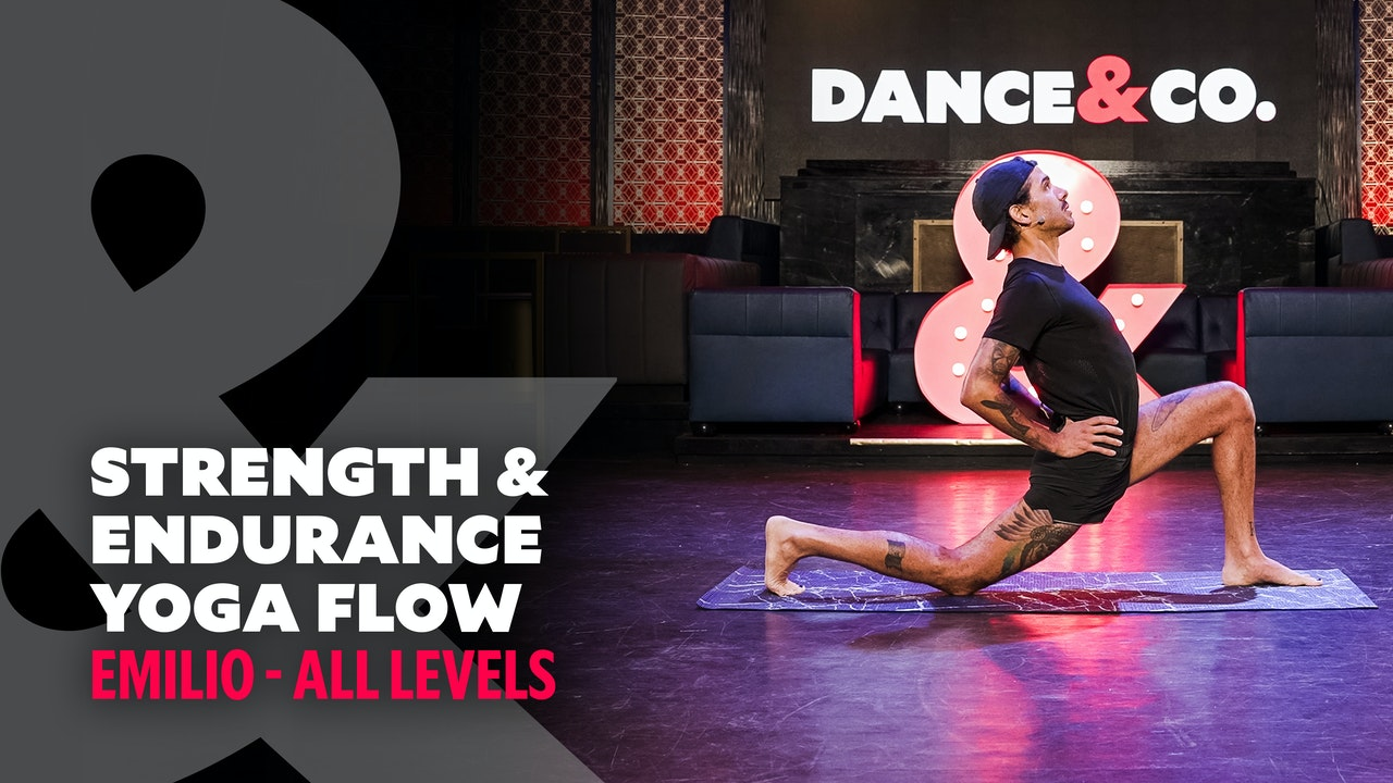Emilio - Strength & Endurance Yoga Flow - All Levels