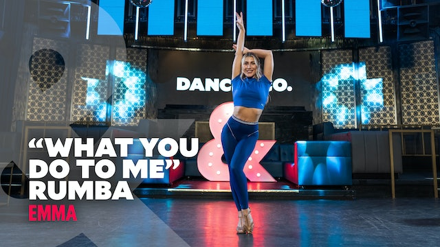 "Emma Slater - ""What You Do To Me"" - Rumba - Level 4"