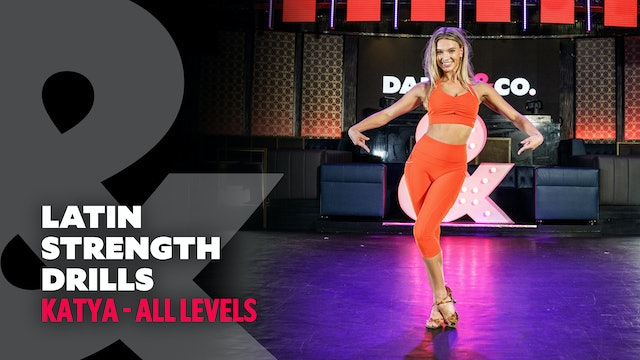 TRAILER: Kateryna - Latin Strength Drills - All Levels