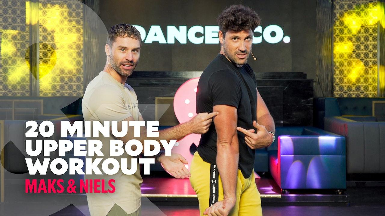 Maks & Niels - 20 minute Upper Body Workout