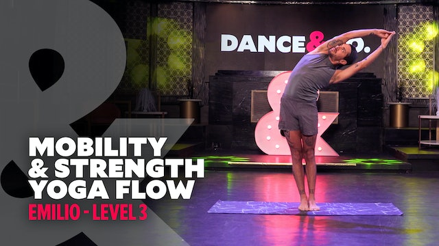 TRAILER: Emilio - Mobility & Strength Yoga Flow - Level 3