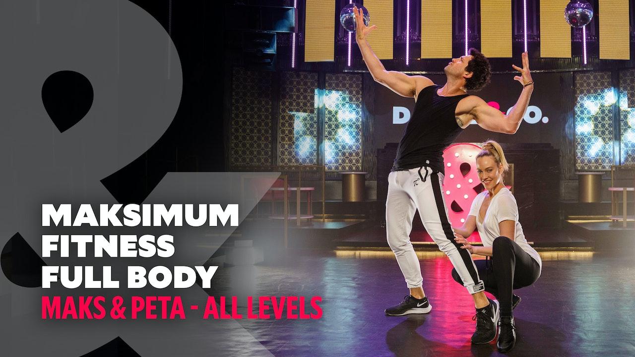 Maks & Peta - Maksimum Fitness: Full Body #8 - All Levels