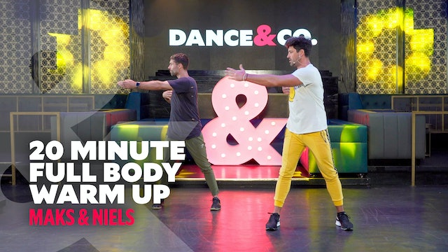 Maks & Niels - 20 minute Full Body Warm Up