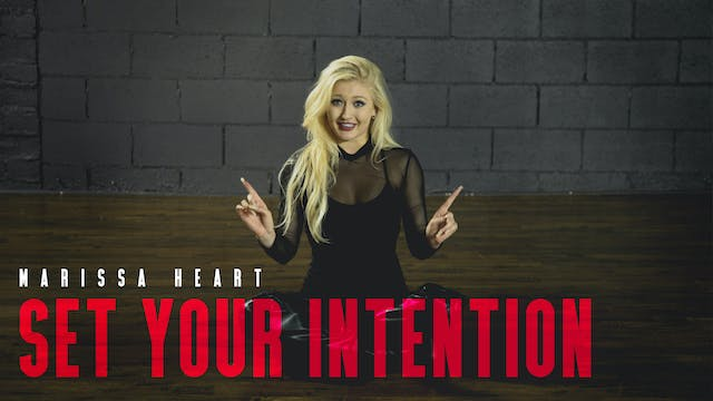 Before Class: Set Your Intention