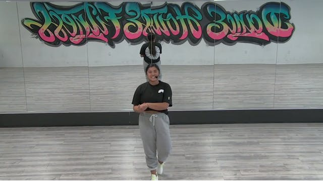 CHOREOGRAHY TUTORIAL - GO CRAZY BY CH...