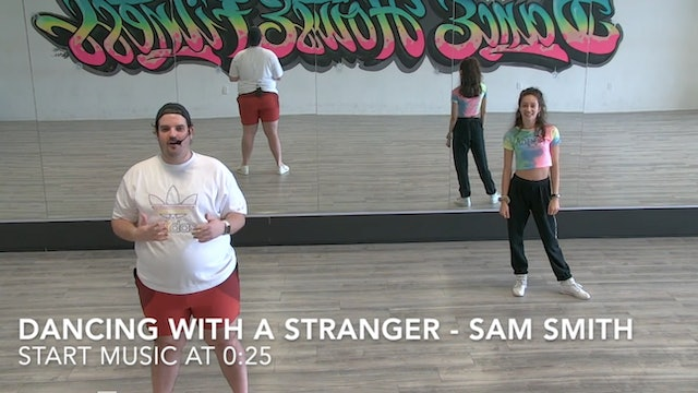 LET'S BE BASIC TUTORIAL - DANCING WITH A STRANGER BY SAM SMITH
