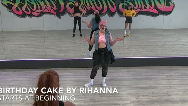 CHOREOGRAPHY TUTORIAL - BIRTHDAY CAKE...