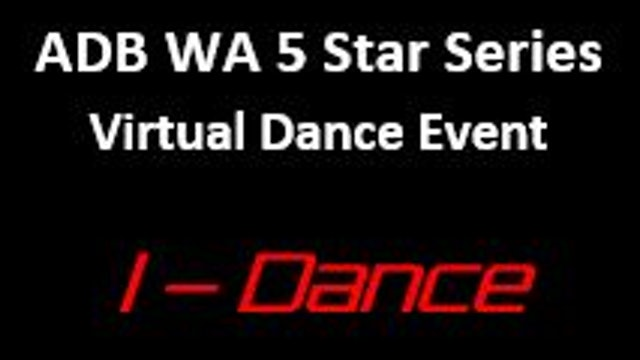 ADB WA Virtual Dance Event (Juv - Jun)