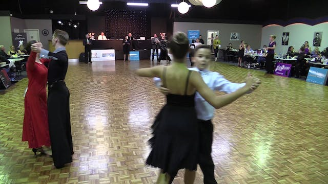 b. Junior I 12-14 yrs Bronze Ballroom...
