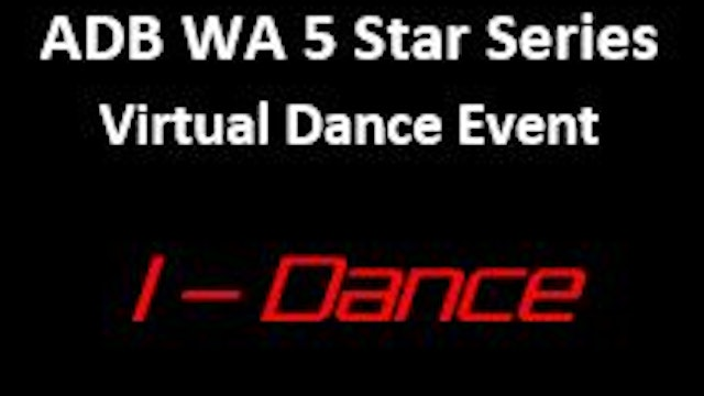 LIVELIGHTER ADB WA Virtual Dance Event (Adult & Masters)