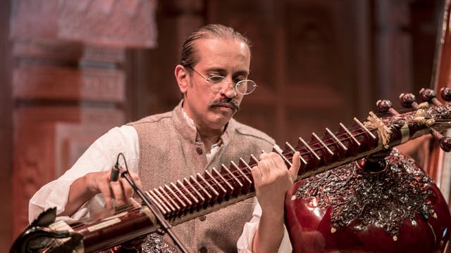 Ustad Bahauddin Dagar - Been recital