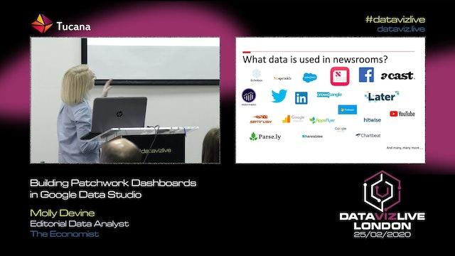 Google Data Studio: Building Patchwork Dashboards