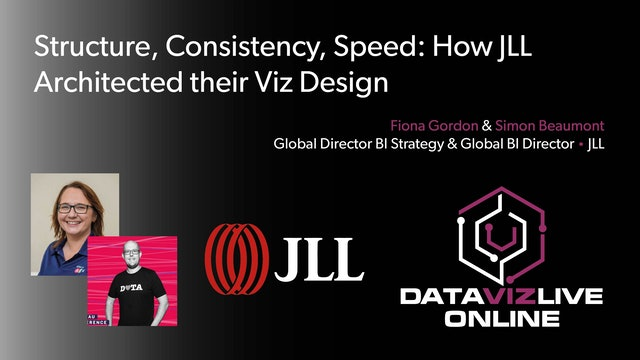 Structure, Consistency, Speed: How JLL Architected their Viz Design