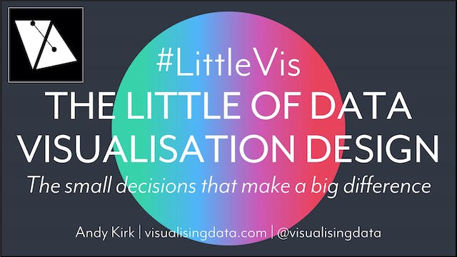 The Little of Data Visualisation