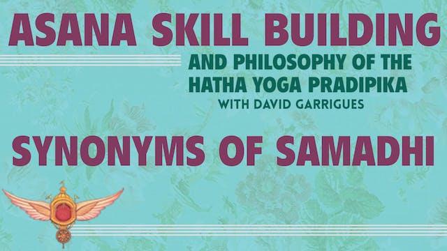 HYP Talk #6: Synonyms of Samadhi
