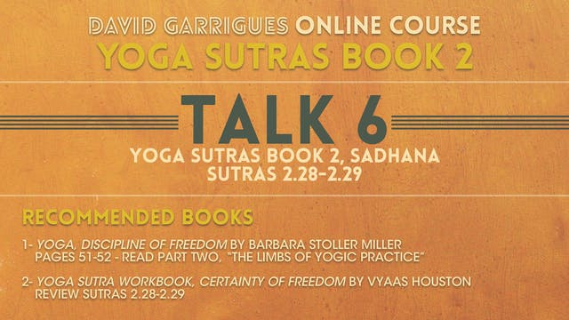 Book 2: Talk 6