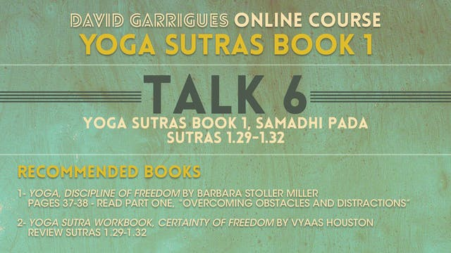Book 1: Talk 6