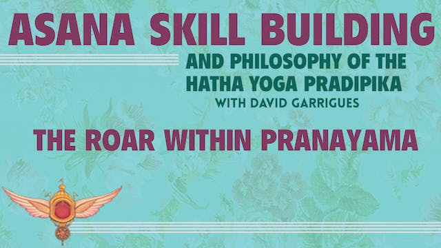 HYP Talk #4: The Roar Within Pranayama