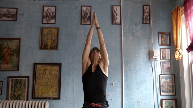 Day 3 Warm Up - Sun Salutations and Purvottonasana