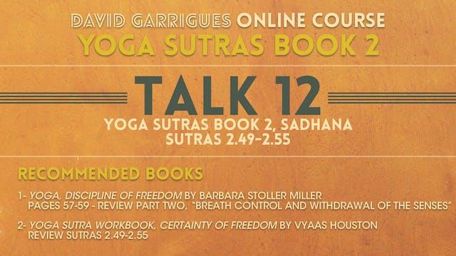 Book 2: Talk 12