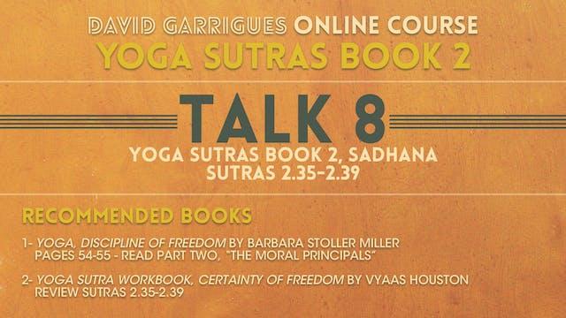 Book 2: Talk 8