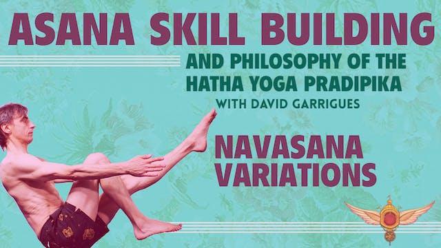 Navasana Variations