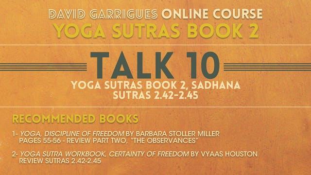 Book 2: Talk 10