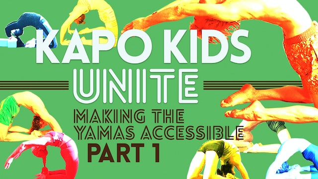 Making the Yamas Accessible Part 1