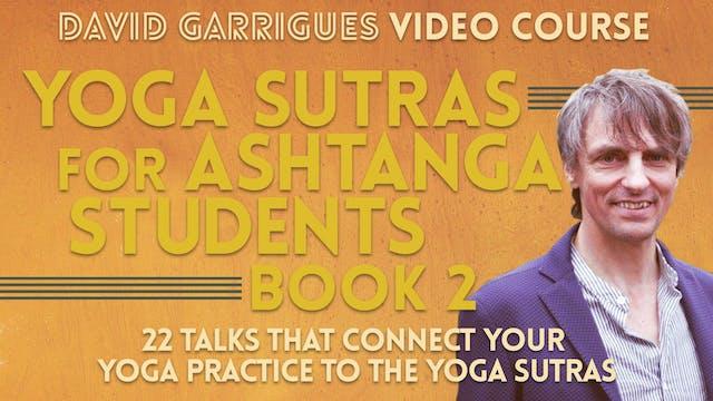Yoga Sutras for Ashtanga Students (Book 2)