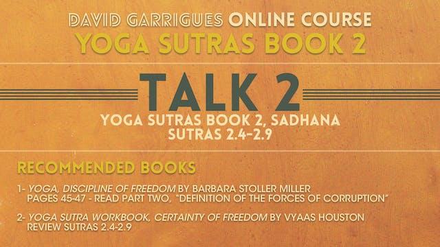 Book 2: Talk 2