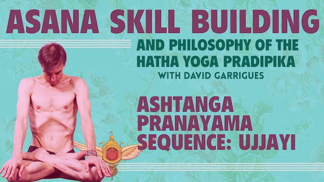 instructed First Pranayama Ujjayi (Pa...