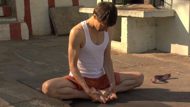 Baddha Konasana Modification