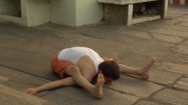 Kurmasana Modifications (Tortoise Posture)