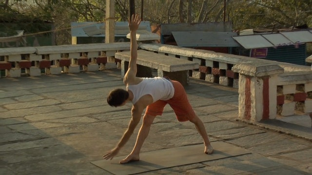 Parivrtta Trikonasana Modification (R...