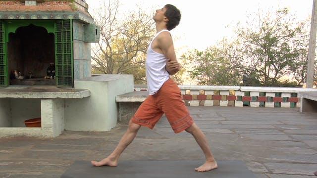 Parsvottanasana Modification (Intense Side Stretch Posture)