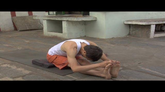 Pashcimottanasana Modification (Seated Forward Bend Posture)